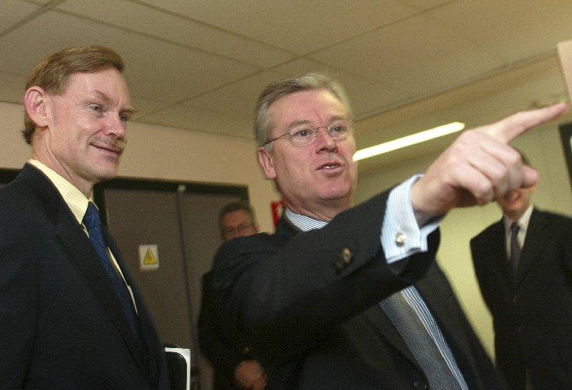 Visit of Robert Zoellick, US Trade Representative, to the EC