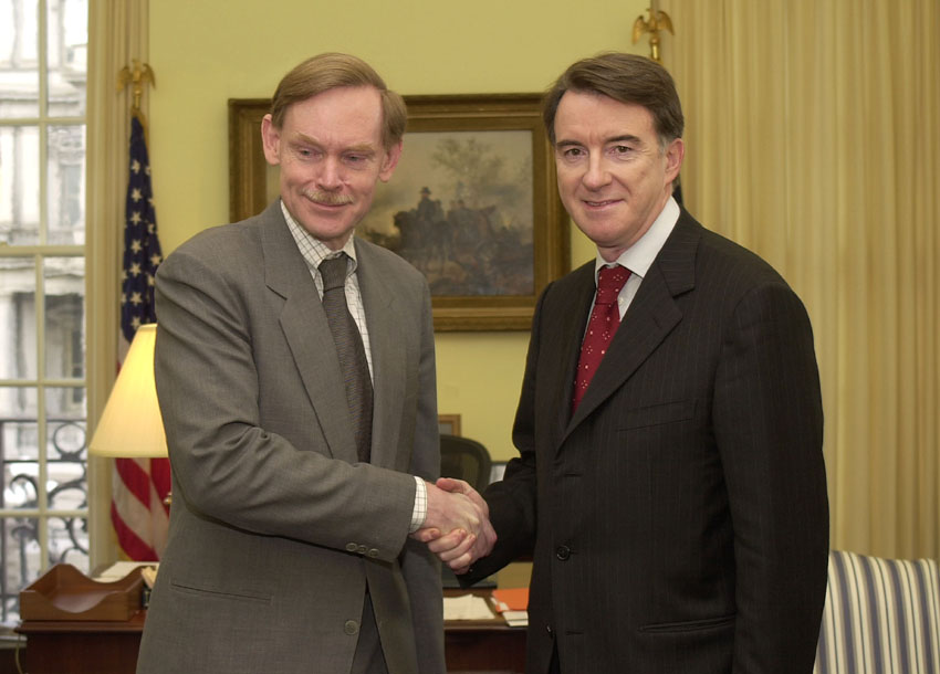 Visit by Peter Mandelson, Member of the EC, to Washington