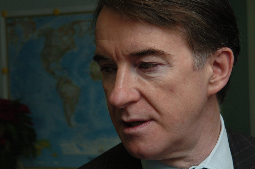 Peter Mandelson, Member of the EC