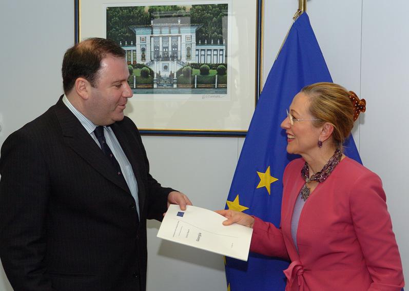Présentation des rapports par pays dans le cadre de la politique européenne de voisinage par Benita Ferrero-Waldner, membre de la CE