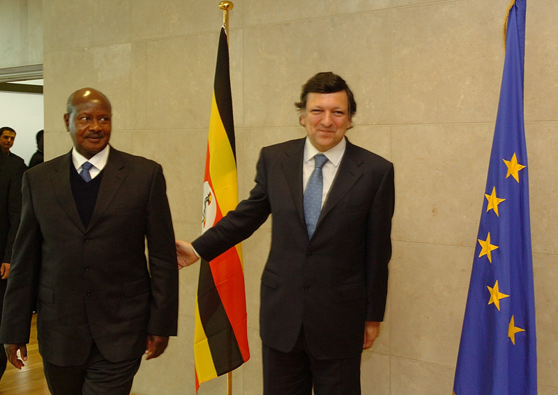 Visit of Yoweri Museveni, President of Uganda, to the EC