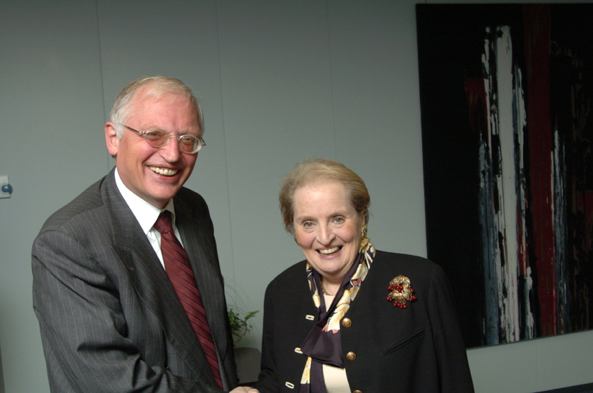 Visit of Madeleine Albright, Former US Secretary of State, to the EC
