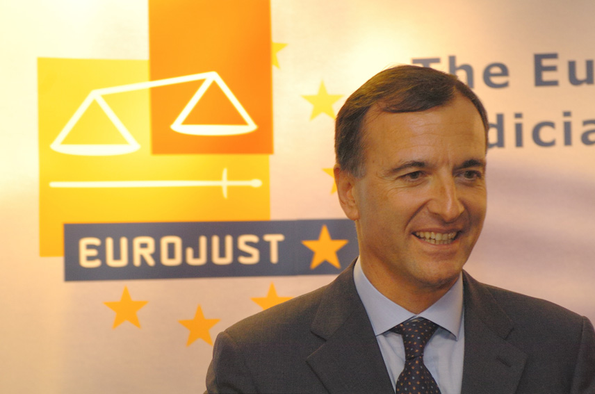 Visit by Franco Frattini, Vice President of the EC, to Eurojust and Europol