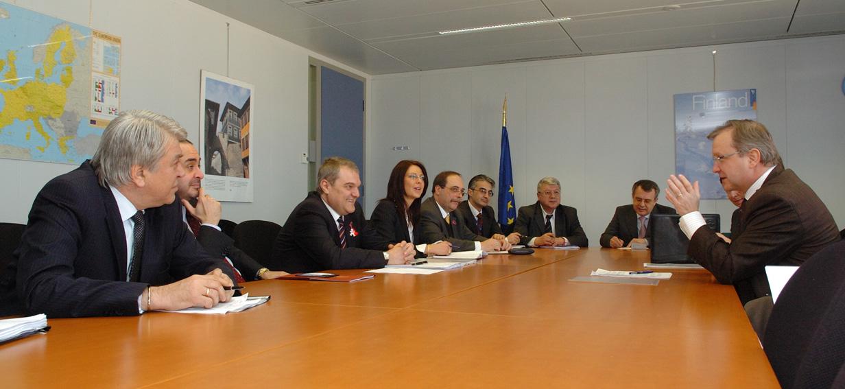 Visit by Georgi Petkanov, Bulgarian Minister for Justice, and Rumen Petkov, Bulgarian Minister for the Interior, to the EC