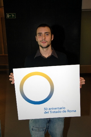Award ceremony of the logo competition for the 50th anniversary of the Treaties of Rome