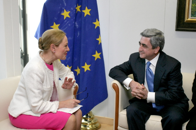 Visit by Serzh Sargsyan, Armenian Minister for Defense, to the EC