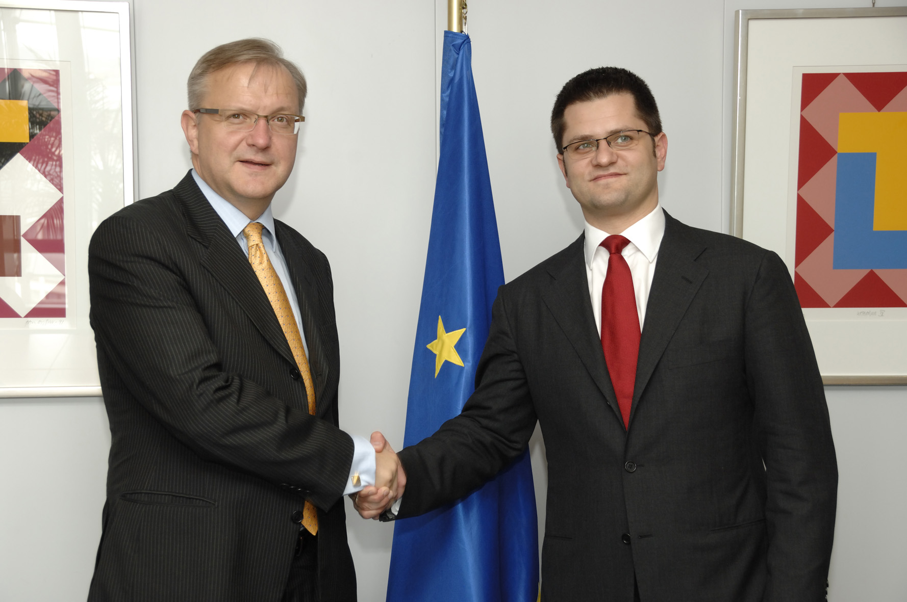 Visit by Vuk Jeremic, Serbian Minister for Foreign Affairs, to the EC