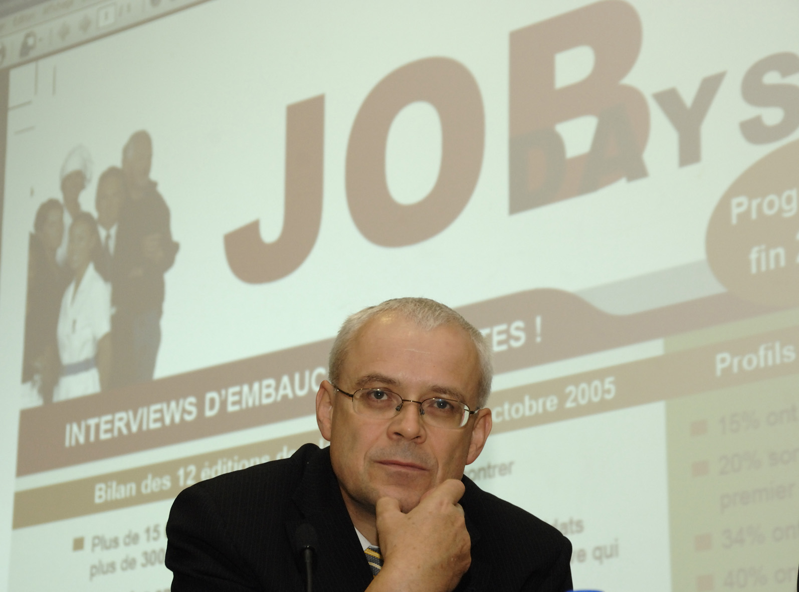 Opening of the European Job Days event by  Vladimír Špidla, Member of the EC