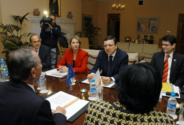 Visit by José Manuel Barroso, President of the EC, to Cyprus
