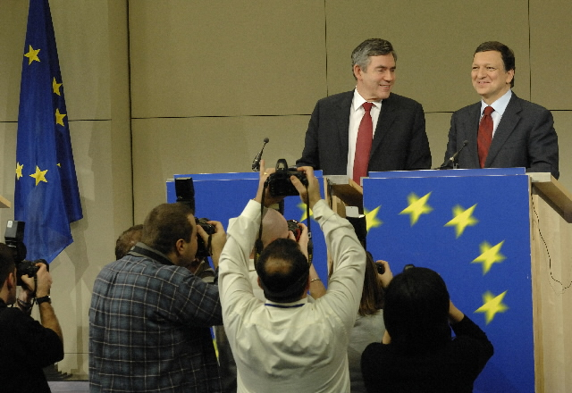 Visit by Gordon Brown, British Prime Minister, to the EC