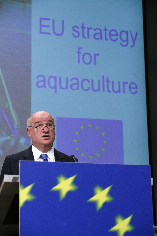 Press conference by Joe Borg,  Member of the EC, on the European Aquaculture