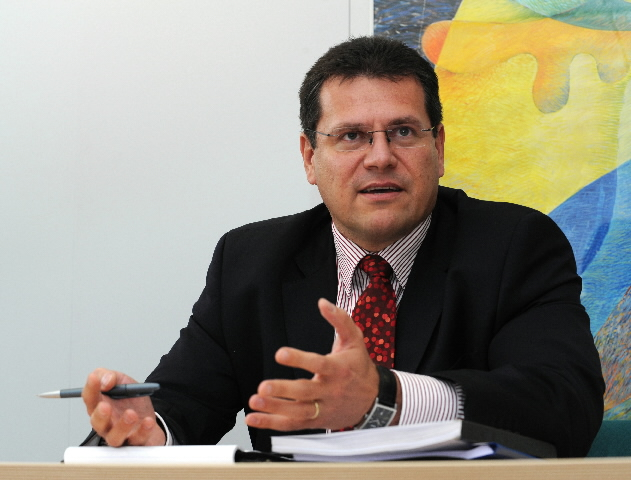 Maroš Šefcovic, Member of the EC in charge of Education, Training, Culture and Youth