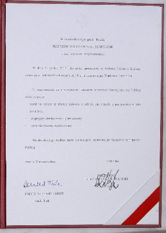 Signature du Traité de Lisbonne par la Pologne