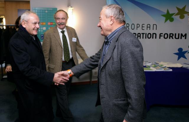 Participation of Jacques Barrot, Member of the EC, at the 2nd European Integration Forum