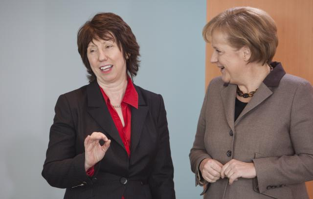 Visit of Catherine Ashton, High Representative of the Union for Foreign Affairs and Security Policy and Vice-President of the EC, to Germany