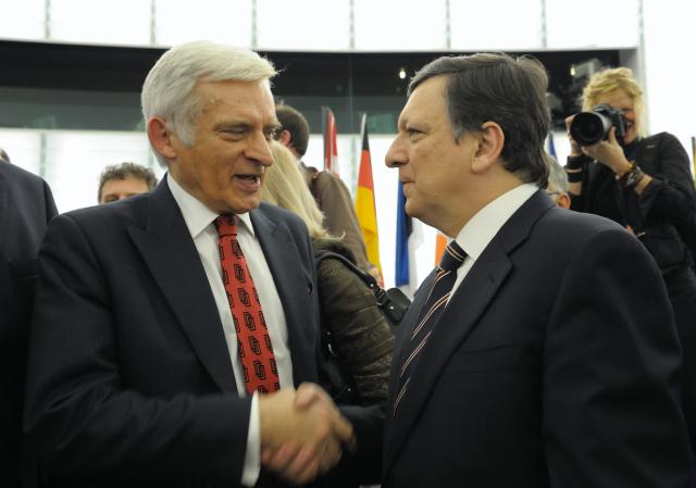 Vote of the Commission Barroso II in plenary session of the EP