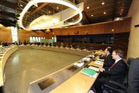 Première réunion hebdomadaire de la Commission Barroso II