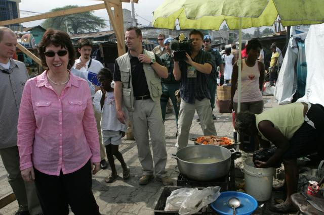 Visit of Catherine Ashton, High Representative of the Union for Foreign Affairs and Security Policy and Vice-President of the EC, to Haiti