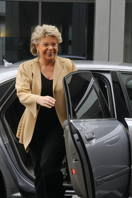 Participation of Viviane Reding, Vice-President of the EC, at the EC
