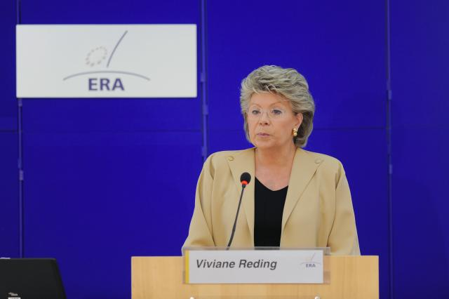 Participation of Viviane Reding, Vice-President of the EC, at the EC L'avenir de la justice pénale européenne sous le traité de Lisbonne