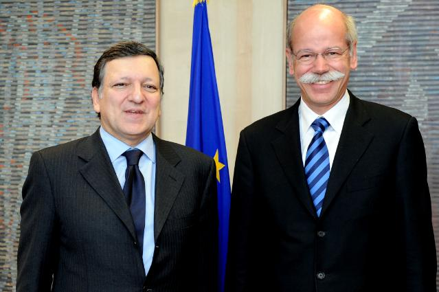 Visit of Dieter Zetsche, President of the European Automobile Manufacturers' Association (ACEA), to the EC