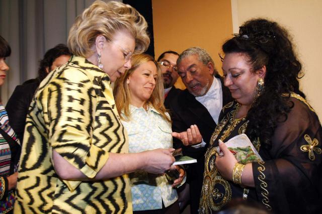 Participation de Viviane Reding, vice-présidente de la CE, au deuxième Sommet européen sur les Roms