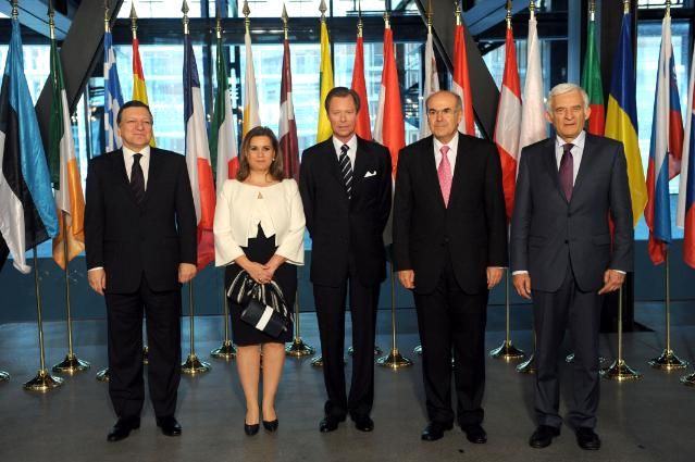 Swearing-In of the Barroso II Commission at the Court of Justice of the EU