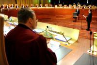 Prestation de serment de la Commission Barroso II devant la Cour de justice de l'UE