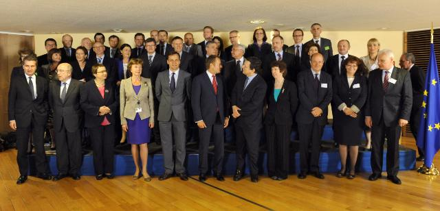 Visit of Donald Tusk, Polish Prime Minister, to the EC