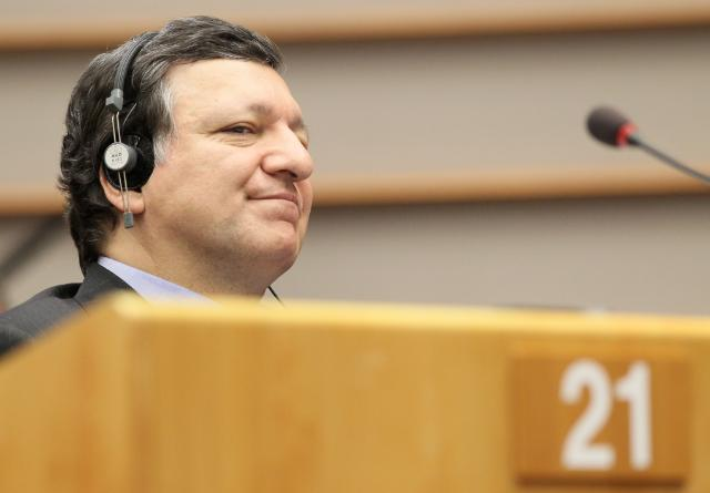 Participation of José Manuel Barroso, President of the EC, at an EP extraordinary plenary session on the conclusions of the European Council
