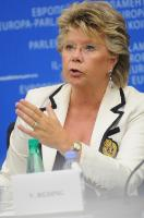 Press conference by Viviane Reding, Vice-President of the EC, on gender equality