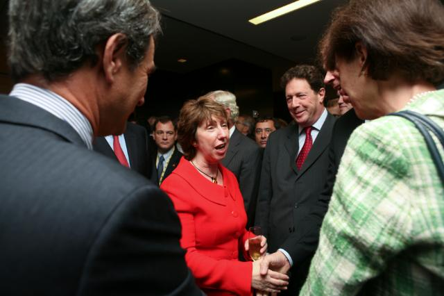 Visite de Catherine Ashton, vice-présidente de la CE, à Washington