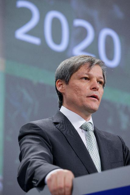 Press conference by Dacian Cioloş, Member of the EC, on the future of the CAP