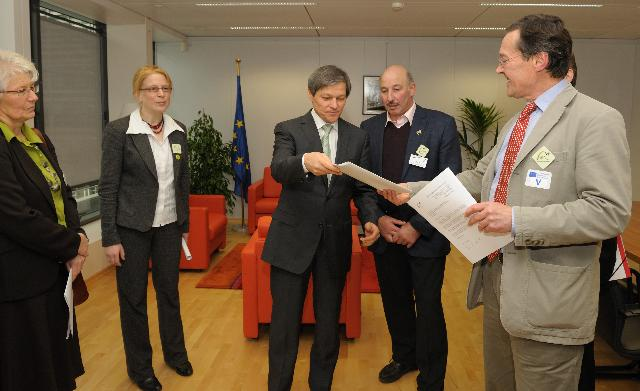 Visit of a delegation from the Agricultural and Rural Convention to the EC