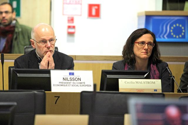 Participation of Cecilia Malmström, Member of the EC, at the conference Which Policy on Legal Immigration for the EU?