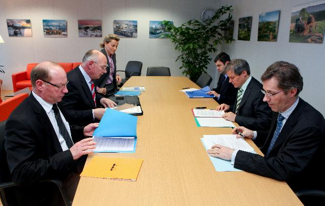 Visit of a delegation from the CIBE to the EC