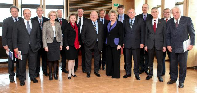 Visit of European business leaders to the EC