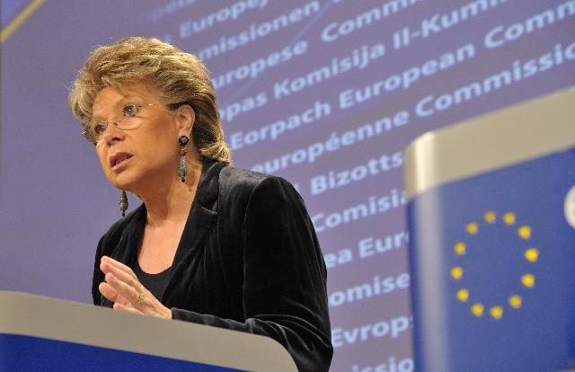 Press conference by Viviane Reding, Vice-President of the EC, on property rights