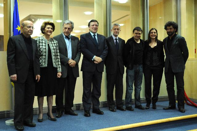 Visit of a delegation of film directors to the EC