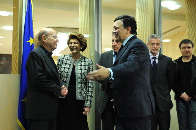 Visit of a delegation of film directors to the EC
