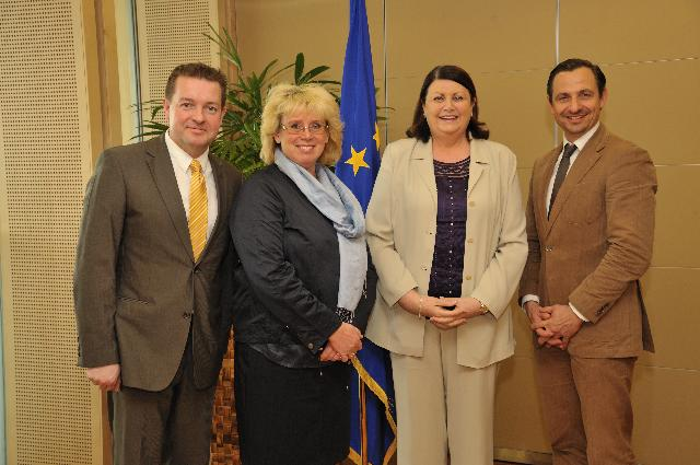 Visit of ALDE Members of the EP to the EC