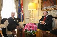 Visit of José Manuel Barroso, President of the EC, to Croatia