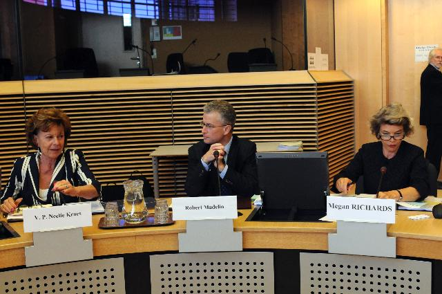 Participation of Neelie Kroes, Vice-President of the EC, at the conference on the cloud computing in Europe