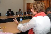 Visit of Connie Hedegaard, Member of the EC, to Ethiopia