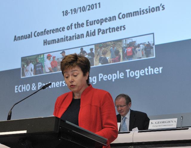 Participation de Kristalina Georgieva, membre de la CE, à la Conférence annuelle des partenaires 2011