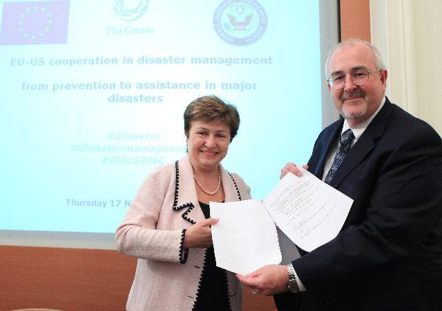 Conférence sur la coopération UE/USA dans la gestion des catastrophes: de la prévention à l'assistance dans les catastrophes majeures