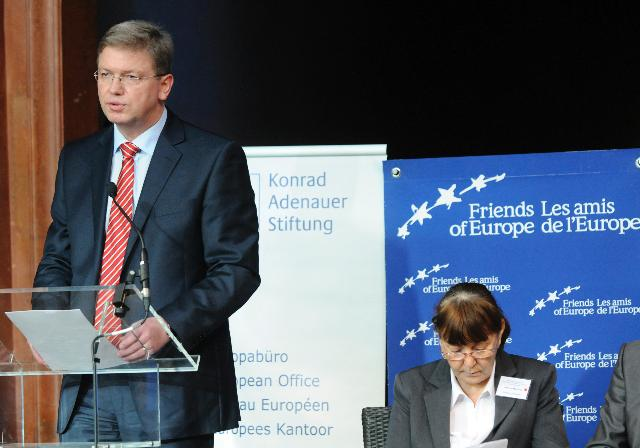 Participation of Štefan Füle, Member of the EC, at the annual Summit on the Balkans, organised by the Friends of Europe