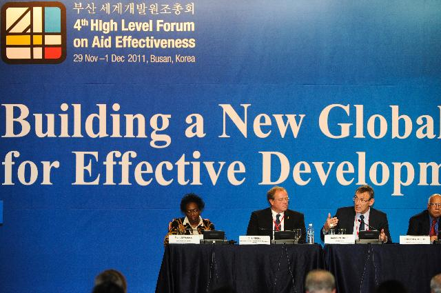 Participation of Andris Piebalgs, Member of the EC, at the 4th High Level Forum on Aid Effectiveness, in Busan