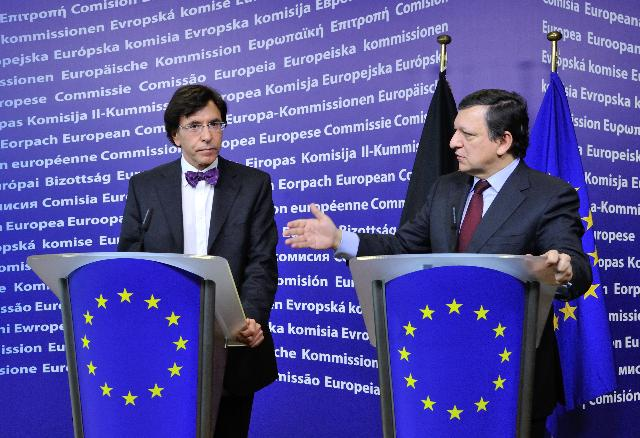 Visit of Elio Di Rupo, Belgian Prime Minister, to the EC