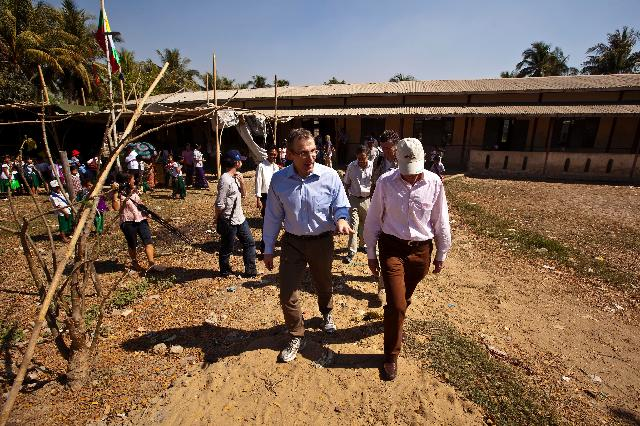 Visit of Andris Pieblags, Member of the EC, to Burma/Myanmar
